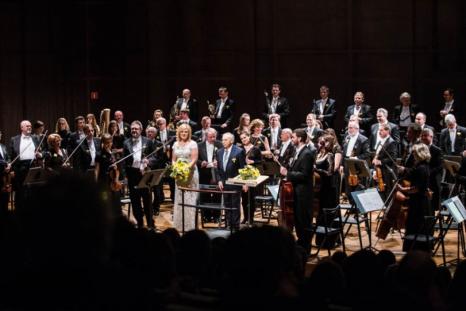 Iwona Sobotka Gabriel Chmura Sinfonia Varsovia 2015, credit Magda Starowieyska