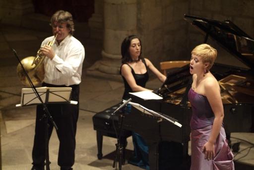 Iwona Sobotka, Radovan Vlatkovic, Karina Azizova, Dubrownik Summer Festival 2006